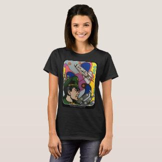 T-shirt Résumé atomique la peinture de capitaine de Rocket