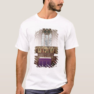 T-shirt Retable dépeignant la crucifixion avec huit