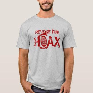 T-shirt Retirez le canular du changement climatique
