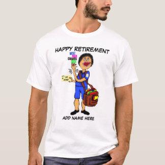 T-shirt Retraite de facteur