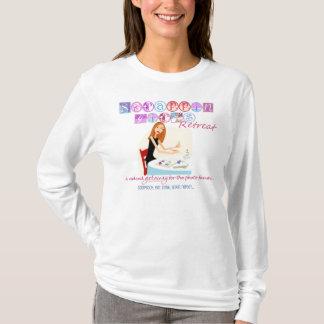 T-shirt Retraite de filles de Scrappin