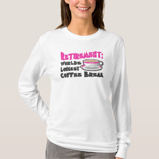 T-shirt Retraite (rose)