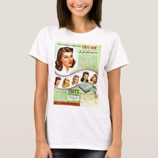 T-shirt Rétro annonce vintage de les années 50 Tintz