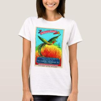 T-shirt Rétro augmentation vintage de Phoenix de pétard de