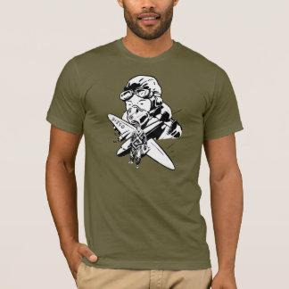 T-shirt Rétro aviateur