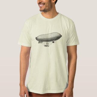 T-shirt Rétro ballon à air chaud zeppelin vintage de
