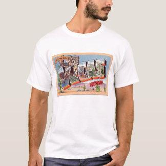 T-shirt Rétro carte postale vintage Las Vegas Nevada de