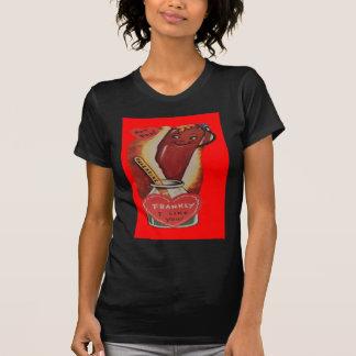 T-shirt Rétro carte vintage de Valentine de hot-dog