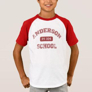 T-shirt Rétro chemise d'Anderson
