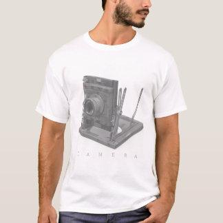 T-shirt Rétro chemise d'appareil-photo pour des types et