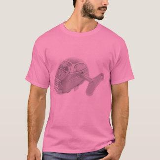 T-shirt Rétro chemise de type de rose de voiture de jouet