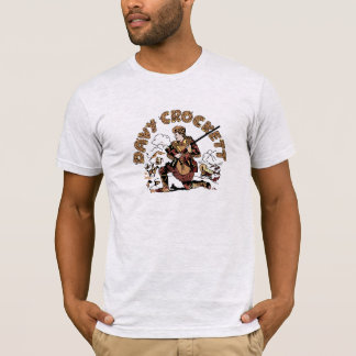 T-shirt Rétro Davy Crockett