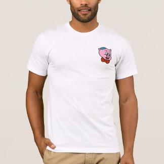 T-shirt Rétro dévot de la queue à la chemise de museau