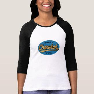 """T-shirt Rétro est 139BCE de Hanoukka """"Chanukah"""" 3/4"""