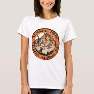 T-shirt Rétro étiquette vintage de loge de Yosemite
