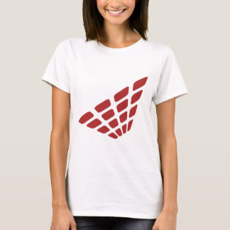 T-shirt Rétro forme de pyramide