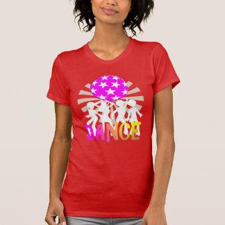 T-shirt Rétro graphique de danse de danse de disco