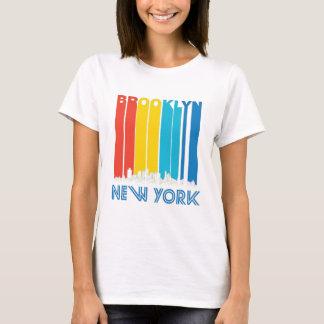 T-shirt Rétro horizon de Brooklyn New York