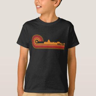 T-shirt Rétro horizon de Middletown le Connecticut de