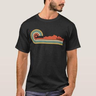 T-shirt Rétro horizon de Tallahassee la Floride de style