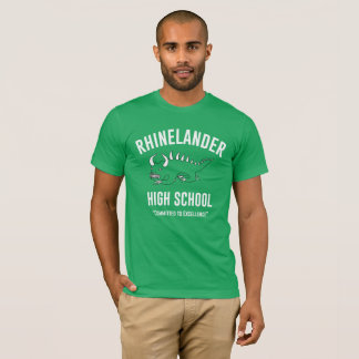 T-shirt Rétro lycée de Hodag - de Rhinelander : Kelly des