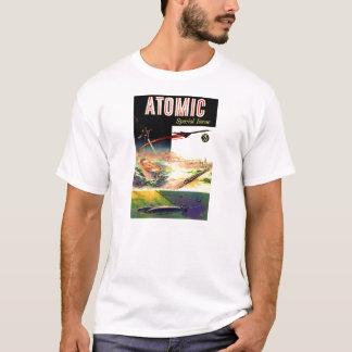 T-shirt Rétro magazine atomique nucléaire vintage des