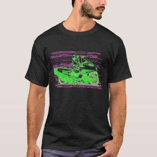 T-shirt Rétro moto/hélicoptère de jouet