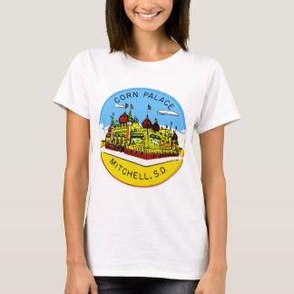 T-shirt Rétro palais vintage le Dakota du Sud de maïs de