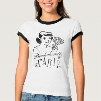 T-shirt Rétro partie de Bachelorette