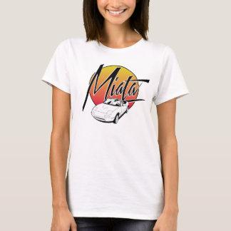 T-shirt Rétro pièce en t de Miata