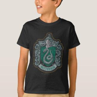 T-shirt Rétro Slytherin crête puissante de Harry Potter |
