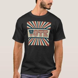 T-shirt Rétro vote, toute la vitesse