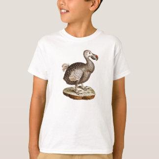 T-shirt Rétros 1700s d'oiseaux de drontes d'oiseau vintage