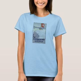 T-shirt Rétros copies de voyage d'annonce vintage