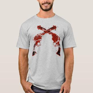 T-shirt Rétros pistolets croisés