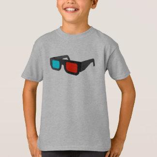 T-shirt Rétros verres 3D graphiques