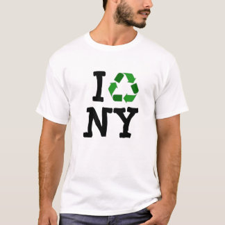 T-shirt réutilisez, I, NY