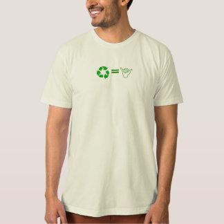 T-shirt Réutilisez = impressionnant