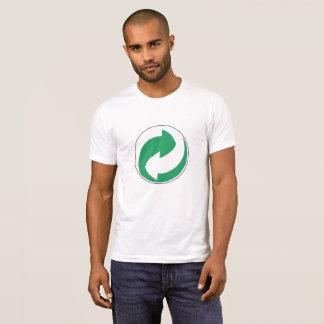 T-shirt Réutilisez la chemise de symbole