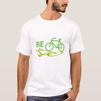T-shirt Réutilisez la conception de vélo
