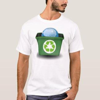 T-shirt Réutilisez la terre