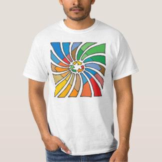 T-shirt Réutilisez l'art de signe