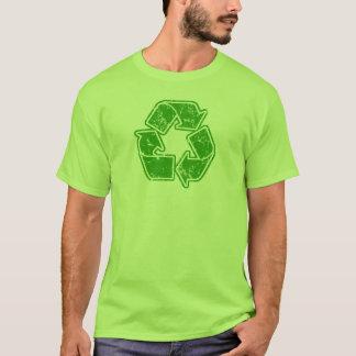 T-shirt Réutilisez le cru graphique