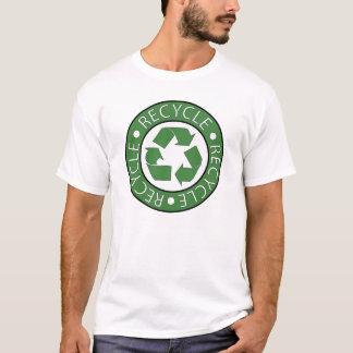T-shirt Réutilisez le logo vert