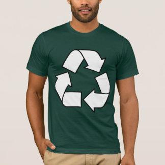 T-shirt Réutilisez le symbole