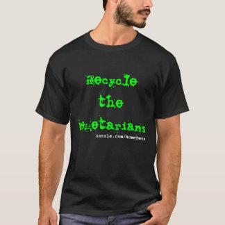 T-shirt Réutilisez les végétariens, zazzle.com/AcmeTees