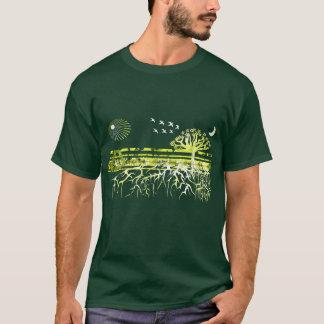 T-shirt Réutilisez - racines blanches pures -