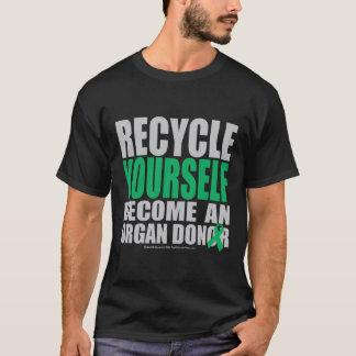 T-shirt Réutilisez-vous donateur d'organe