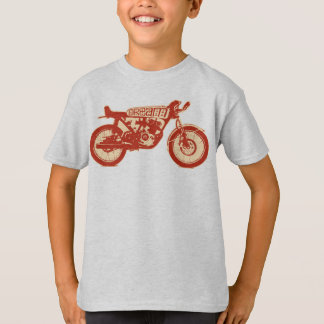 T-shirt Rêve (rouge/crm croquants)