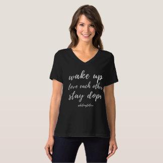 T-shirt Réveillez et aimez-vous